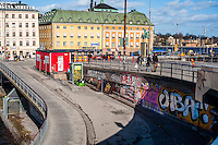 Street scenes from Stockholm