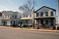1990 March ..Conservation.Berkley 3..Poor Housing..Berkley Avenue Extended...NEG#.NRHA#..