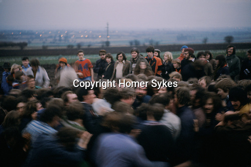 Haxey Hood Game. Haxey Lincolnshire 1970s.The Sway.