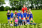 Under 7's Enjoying the Ballymac Cul Camp on Monday