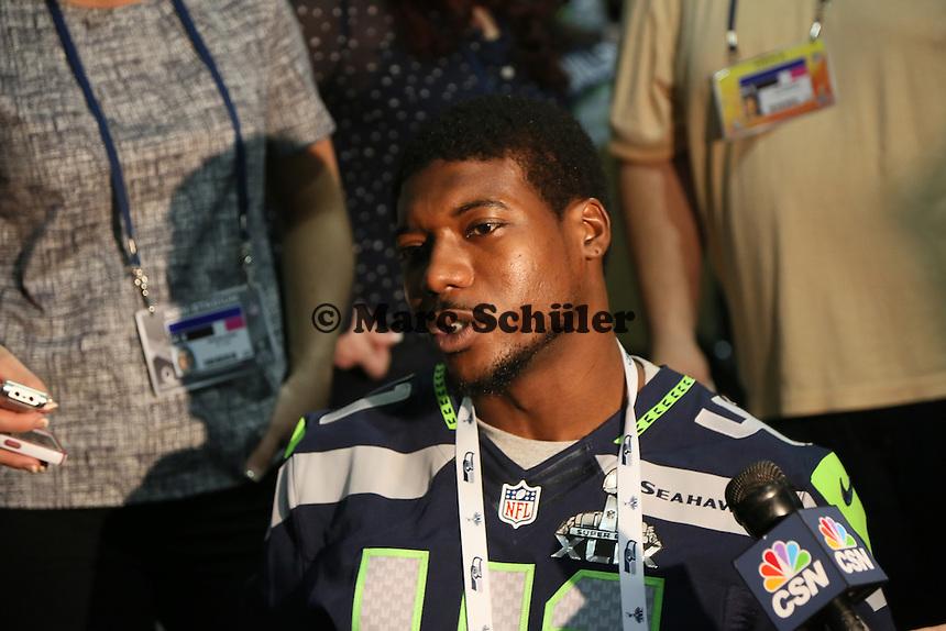 CB Byron Maxwell (Seahawks)- Super Bowl XLIX Seattle Seahakws Team-PK, Arizona Grand Hotel