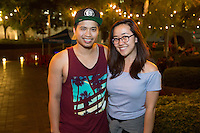 Bay Bui and Christine Kim attend FIGat7th Downtown Festival: Rayland Baxter on July 15, 2016 (Photo by Tony Ducret/Guest of A Guest)