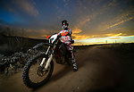 BAJA CALIFORNIA, MEXICO - NOVEMBER 15:  Ivan Ramirez of of the FMF/Bonanza Plumbing KTM team during the 2013 SCORE Baja 1000 on November 15, 2013 in Baja California, Mexico. (Photo by Donald Miralle for ESPN the Magazine) *** Local Caption ***Ivan Ramirez