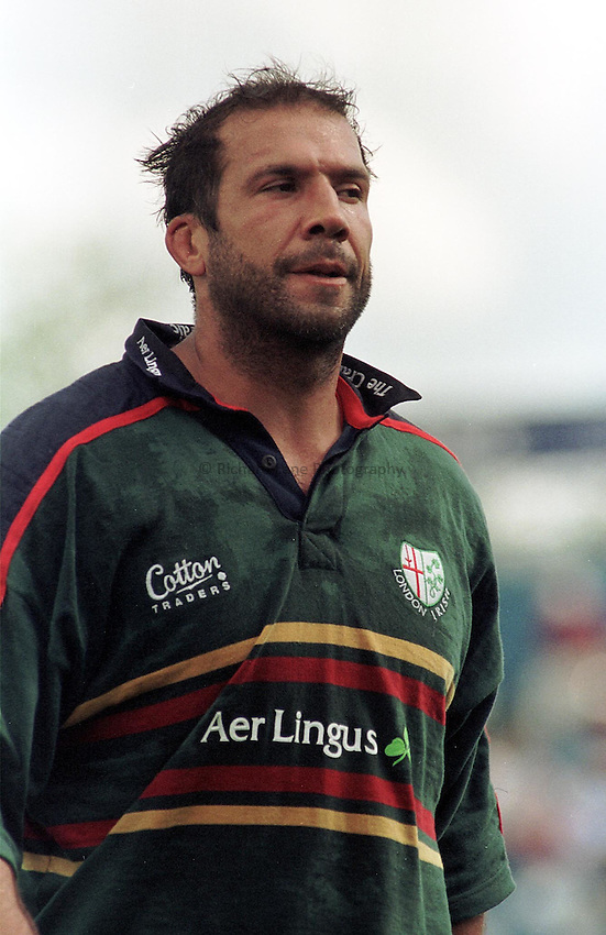 Photo Dave Jackson.19.8.2000 Harlequins v London Irish.Chris Sheasby in his first game for his new club