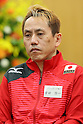 Shinichi Yoshida (JPN), <br /> JULY 22, 2016 - Table Tennis : <br /> Japan national team Send-off Party <br /> for Rio Olympic Games 2016 &amp; Paralympic Games <br /> at Ajinomoto National Training Center, Tokyo, Japan. <br /> (Photo by YUTAKA/AFLO SPORT)