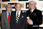 Thomas Meehan, Charles Strouse, Martin Charnin attending the Broadway Opening Night Performance After Party for 'Annie' at the Hard Rock Cafe in New York City on 11/08/2012