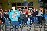 All Ireland Boxing Medal  Winner : Brian Wall, Ballybunion, a member of the Cashen Vale Boxing Club pictured on his arrival back in Ballybunion after winning a Gold medal in the All Ireland U/15 Youth 1 competition at the National Stadium, Dublin on Saturday last.