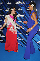 Auli&rsquo;i Cravalho and Nicole Scherzinger at the &quot;Moana&quot; gala film screening, BAFTA, Piccadilly, London, England, UK, on Sunday 20 November 2016.<br /> CAP/CAN<br /> &copy;CAN/Capital Pictures /MediaPunch ***NORTH AND SOUTH AMERICAS ONLY***
