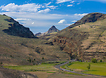 John Day Fossil Beds National Monument, OR<br /> View of the John Day Valley and Picture Gorge in the monument's Sheep Rock Unit
