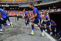 Washington D.C. - Friday, September 4, 2015: The USMNT play Peru in an international friendly game at RFK stadium.
