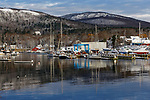 Harbor in Winter, Camden, Maine, USA