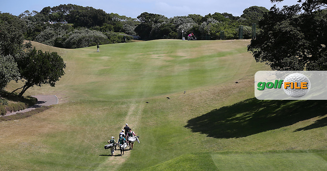View of the 9th hole as the players emerge from the dip during Round Two of the Africa Open 2015 at the East London Golf Club, East London, Eastern Cape, South Africa. Picture:  David Lloyd / www.golffile.ie. 06/03/2015
