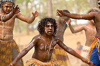 Lockhart River Dancers 1,  Laura Aboriginal Dance Festival, Laura, Cape York Peninsula, Queensland, Australia.