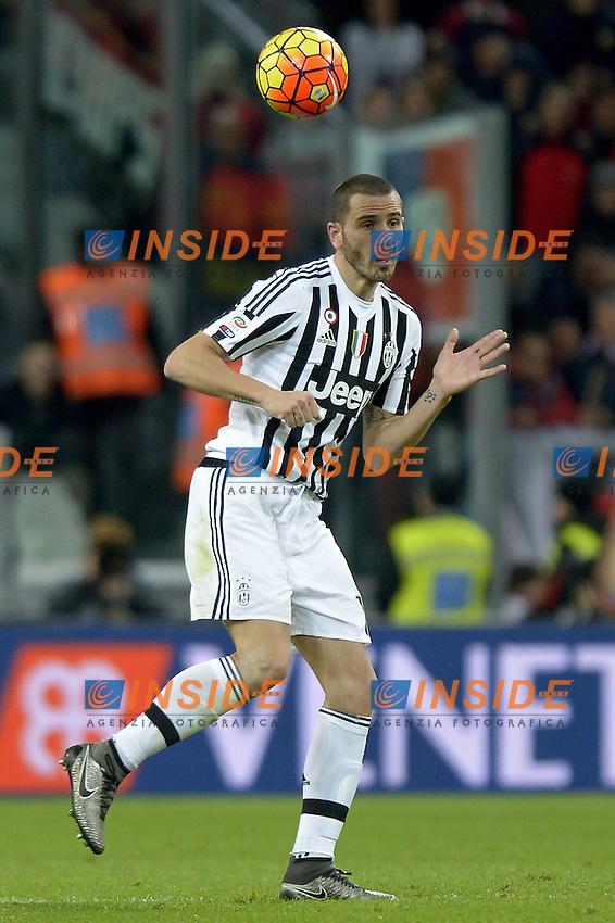 Leonardo Bonucci Juventus,<br /> Torino 03-02-2016, Juventus Stadium, Football Calcio 2015/2016 Serie A, Juventus - Genoa, Foto Filippo Alfero/Insidefoto