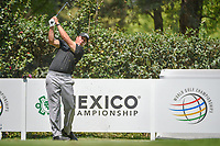 Phil Mickelson (USA) watches his tee shot on 17 during the preview of the World Golf Championships, Mexico, Club De Golf Chapultepec, Mexico City, Mexico. 2/28/2018.<br /> Picture: Golffile | Ken Murray<br /> <br /> <br /> All photo usage must carry mandatory copyright credit (&copy; Golffile | Ken Murray)
