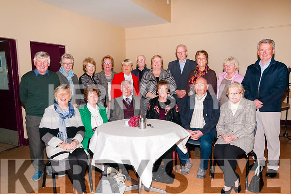 KP&F Acknowledgement: Volunteers at the Listowel branch of Kerry Parents & Friends pictured at an acknowledgment party at the centre on Monday night last.