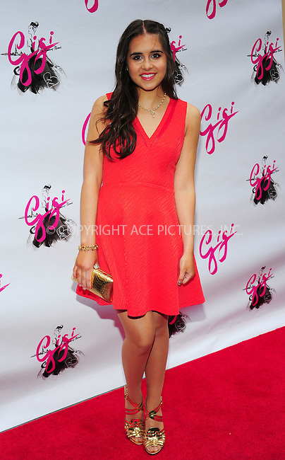 ACEPIXS.COM<br /> <br /> April 8 2015, New York City<br /> <br /> Carly Rose Sonenclar arriving at the 'Gigi' Broadway Opening Night at the Neil Simon Theatre on April 8, 2015 in New York City. <br /> <br /> By Line: William Bernard/ACE Pictures<br /> <br /> ACE Pictures, Inc.<br /> www.acepixs.com<br /> Email: info@acepixs.com<br /> Tel: 646 769 0430
