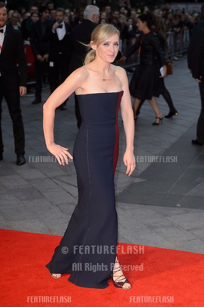 Anne Marie Duff at the BFI London Film Festival premiere of &quot;Suffragette&quot; at the Odeon Leicester Square, London.<br /> October 7, 2015  London, UK<br /> Picture: Dave Norton / Featureflash