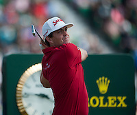 20.07.2014. Hoylake, England. The Open Golf Championship, Final Round. Keegan BRADLEY [USA] from the tee
