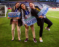 CARSON, CA - FEBRUARY 9: USWNT celebrating during a game between Canada and USWNT at Dignity Health Sports Park on February 9, 2020 in Carson, California.