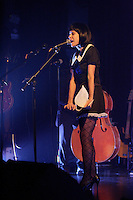 Montreal (Qc) CANADA, Novembre 5, 2007-<br /> Marie-Jo Therio at TRAINZ show during the Coups de Coeur Francophones 2007 - Montreal.<br /> <br /> photo (c)  Images Distribution