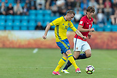 June 1th 2017, Ullevaal Stadion, Oslo, Norway; International Football Friendly 2018 football, Norway versus Sweden;  Sam Larsson of Sweden in action