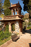 Trevelyan Gardens in Taormina also known as the Villa Comunale, the Giardino Trevelyan and the Parco Duchi di Cesarò