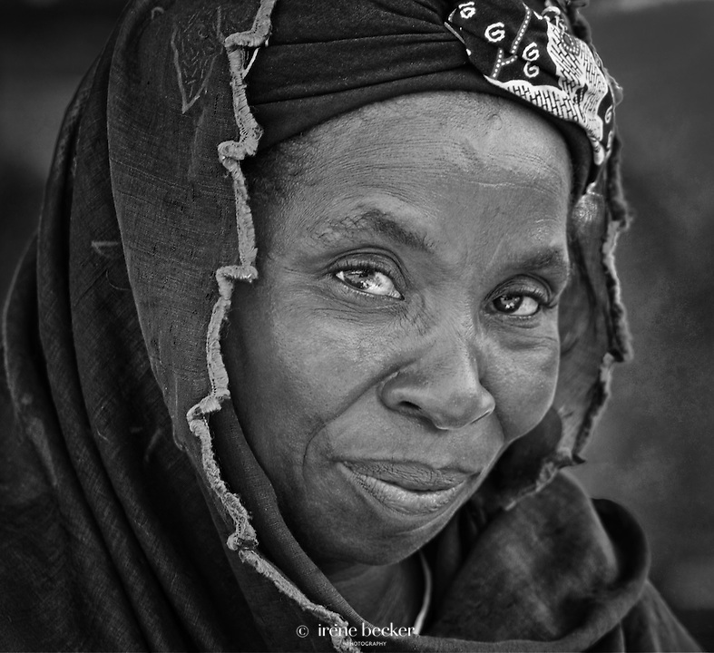 Portrait of Fulani Woman