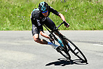 Chris Froome (GBR) Team Sky descends like a demon during Stage 8 of the Criterium du Dauphine 2017, running 115km from Albertville to Plateau de Solaison, France. 11th June 2017. <br /> Picture: ASO/A.Broadway | Cyclefile<br /> <br /> <br /> All photos usage must carry mandatory copyright credit (&copy; Cyclefile | ASO/A.Broadway)
