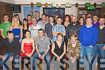 BIRTHDAY: Kieran McCarthy seated centre, from Kerins O'Rahillys Tralee who celebrated his 30th Birthday with family and friends in the Abbey Inn, Tralee on Saturday night....