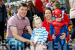 Parade<br /> ----------<br /> Taking part in the Brandon Pattern day childrens parade as part of F&eacute;ile Lughnasa festival last Monday were William&amp;Sinead Connolly with their kids Jonathan&amp;Abigail from Brandon.