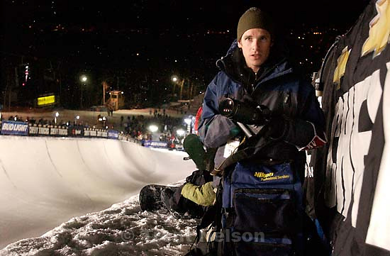 Park City - Grayson West. Halfpipe competition, U.S. Snowboard Grand Prix at Park City Mountain Resort. 12.20.2002, 6:49:38 PM<br />