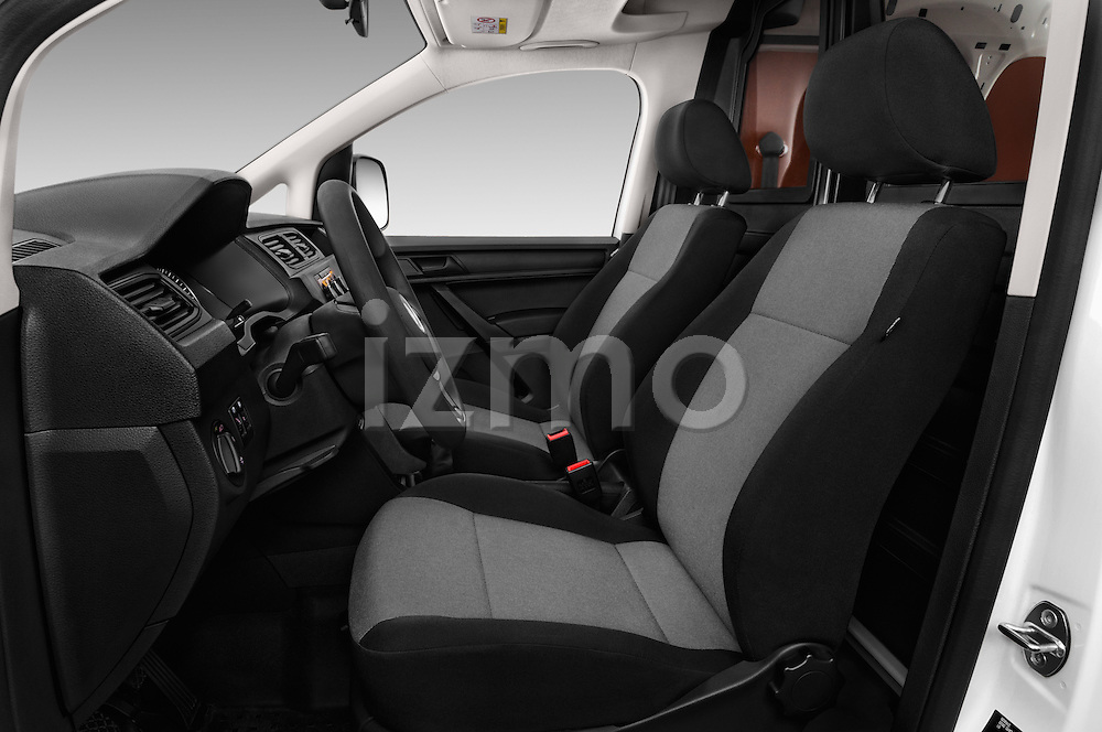 Front seat view of 2016 Volkswagen Caddy Maxi Van - 5 Door Car Van Front Seat  car photos