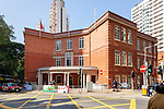 King's College, Bowen Road, Hong Kong Island.