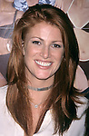 Angie Evenhart pictured at the NATPE Conference in New Orleans on January 25, 1999.