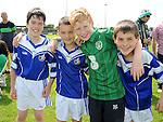 Ben Callinan, Tom Gray, Jack Lynch and Finbar Johnson pictured at Naomh Mairtin sports day. Photo: Colin Bell/pressphotos.ie