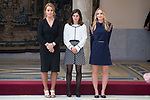 Lidia Valentin, Maialen Chourraut and Laura Sárosi during National Sport Awards 2016 at El Pardo Palace in Madrid , Spain. February 19, 2018. (ALTERPHOTOS/Borja B.Hojas)