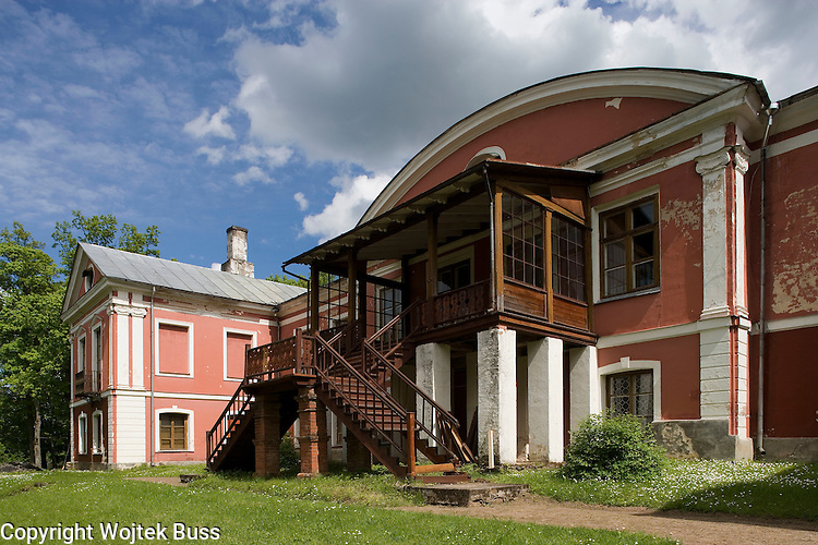 Estonia,Oisu  Manor,typical houses