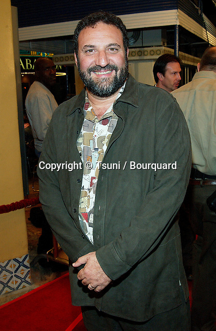 Joel Silver arriving at the Ghost Ship premiere at the Westwood Village Theatre in Los Angeles. October 22, 2002.            -            SilverJoel25.jpg