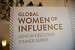 WOI Executive Dinner Event April 29, 2014