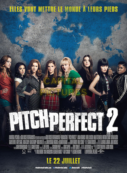 Pitch Perfect 2 (2015) <br /> POSTER ART<br /> *Filmstill - Editorial Use Only*<br /> CAP/KFS<br /> Image supplied by Capital Pictures
