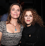Kathryn Erbe & Bernadette Peters attending the Opening Celebration for 'Checkers' at the Vineyard Theatre in New York City on 11/11/2012