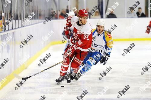 2015-12-19 / ijshockey / Seizoen 2015-2016 / Turnhout - Herentals / Ben Torremans (Herentals)<br /><br />Foto: Mpics.be