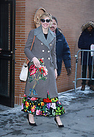 NEW YORK, NY - JANUARY 9: Greta Gerwig seen leaving ABC's The View in New York City on January 9, 2018. <br /> CAP/MPI/RW<br /> &copy;RW/MPI/Capital Pictures