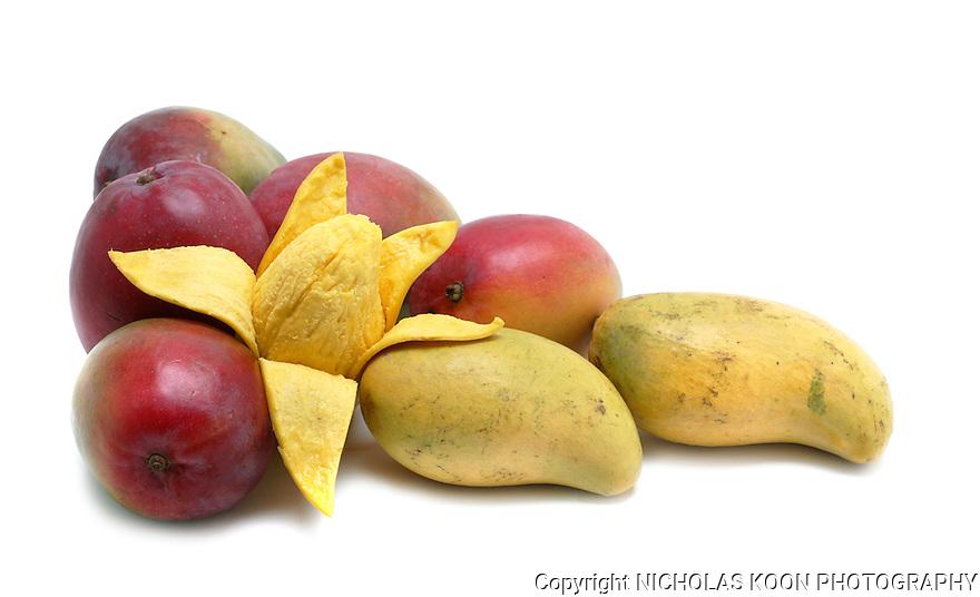Mangos still life.