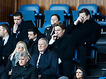 James and Sandy Easdale in the directors box