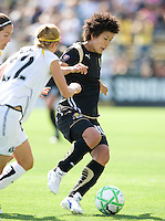 24 May 2009:  Eriko Arakawa of the FC Gold Pride in action during the game against Los Angeles Sol at Buck Shaw Stadium in Santa Clara, California.  Los Angeles Sol defeated FC Gold Pride, 2-0.