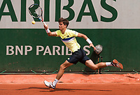 ALJAZ BEDENE (GBR)<br /> <br /> TENNIS - FRENCH OPEN - ROLAND GARROS - ATP - WTA - ITF - GRAND SLAM - CHAMPIONSHIPS - PARIS - FRANCE - 2017  <br /> <br /> <br /> <br /> &copy; TENNIS PHOTO NETWORK