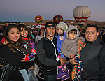 The Apolinar family at the Great Reno Balloon Races held on Saturday, Sept. 10, 2016.