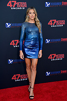 """LOS ANGELES, USA. August 14, 2019: Sistine Rose Stallone at the premiere of """"47 Meters Down: Uncaged"""" at the Regency Village Theatre.<br /> Picture: Paul Smith/Featureflash"""